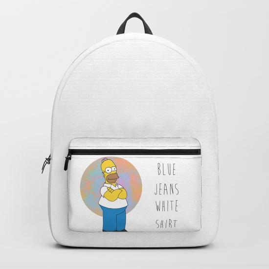homer-s-blue-jeans-white-shirt-backpacks