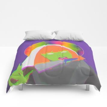 neon-queen-of-halloween-comforters
