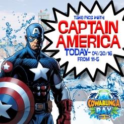 Captian AmericaTODAY