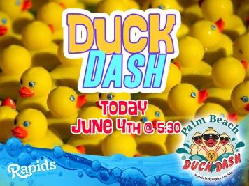 Duck dash today